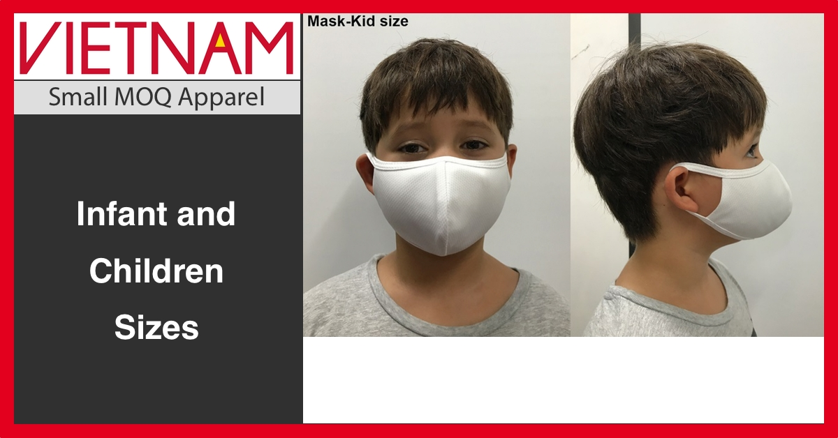 Children Polyester Face Masks